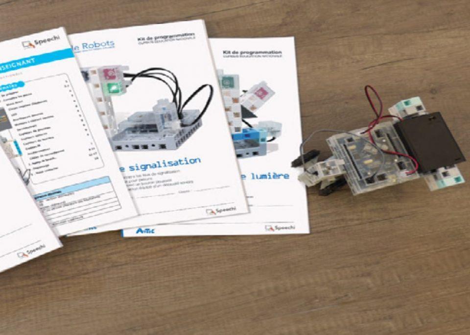 Le robot éducatif dans les classes